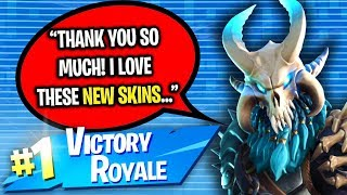 BUYING GIRL BATTLE PASS FOR HELPING ME WIN ON PS4 FORTNITE! (SEASON 5)