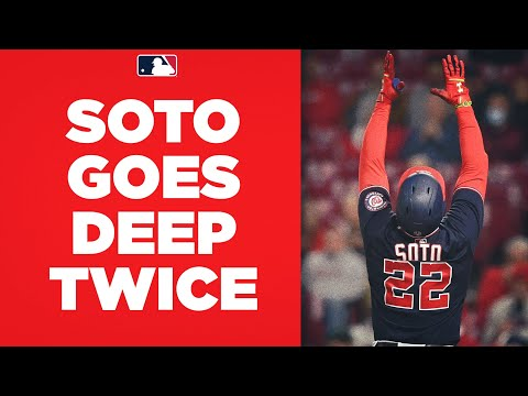 Sleeper MVP candidate?! Juan Soto continues incredible second half, hits two homers against Reds!