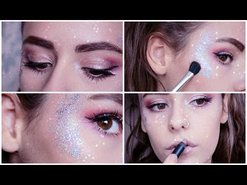 Galactic Glitter Festival Makeup Tutorial | Tilly Louise