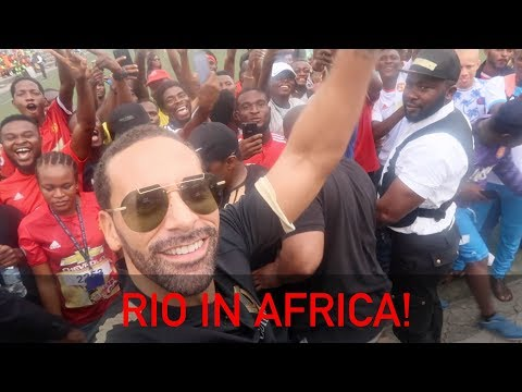 Africa loves Man UTD! | Rio Vlogs