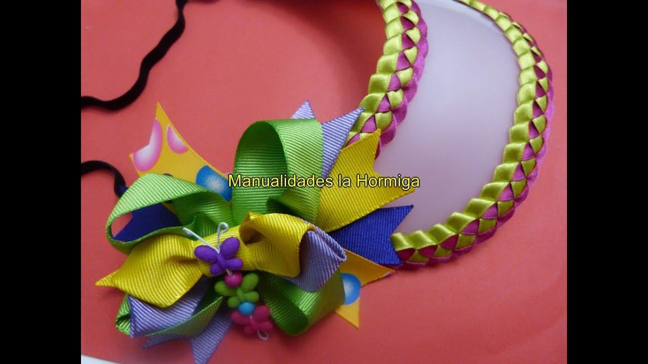 Diy viseras pl sticas con trenzado de cintas diy - Cintas para decorar ...