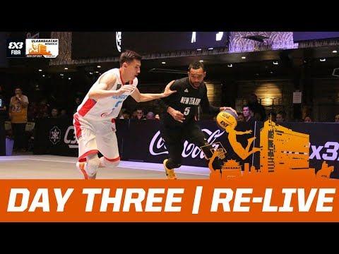 🔴 LIVE - FIBA 3x3 Asia Cup 2017 - Day Three - Ulaanbaatar, Mongolia