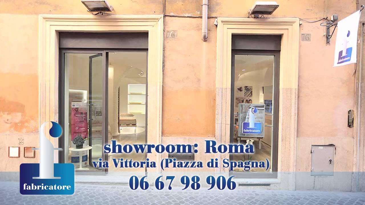 Materassi Fabricatore Roma.Fabricatore Show Room Youtube