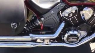 2017 Indian Scout with accessories