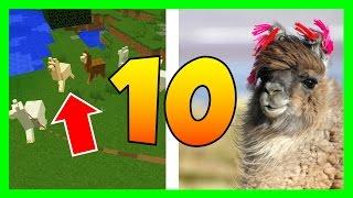 10 CHOSES QUE TU NE SAVAIS PAS SUR LE LAMA !! - MINECRAFT 1.11