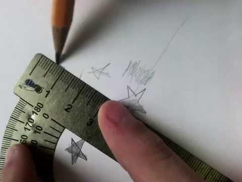 Как рисовать звезду? - YouTube