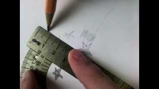 Обучение.Как нарисовать звезду разными спосабами(как я обучяю рисовать звезду., 2015-10-05T15:29:32.000Z)