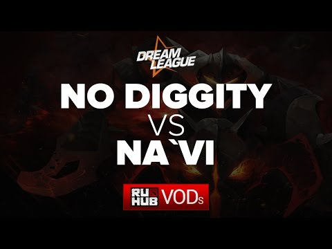 No Diggity vs Natus Vincere, DreamLeague Season 5, Game 1