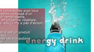 E-liquide Energy Drink