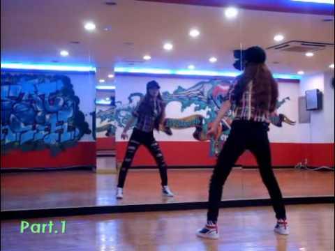 T-ara-TTL(dance Tutorial Part1)