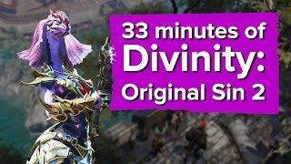 33 minutes of Divinity: Original Sin 2 Gameplay