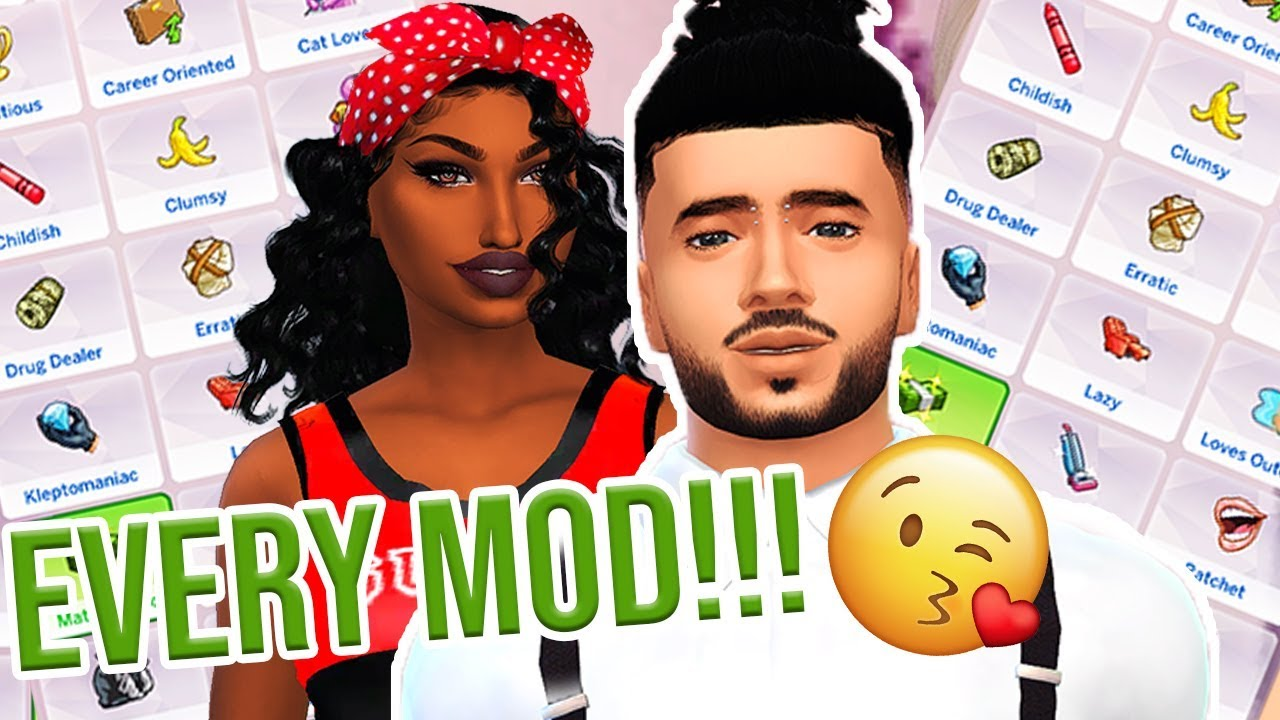 EVERY GAMEPLAY MOD IN MY GAME 2019 // THE SIMS 4 MODS