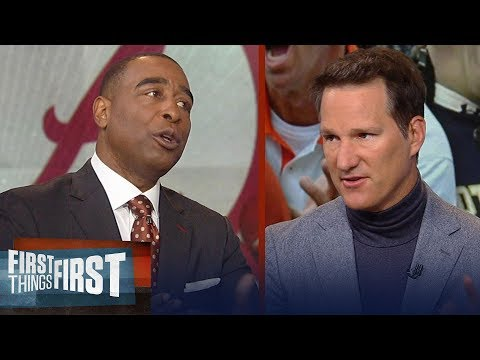 Danny Kanell: Gap between Clemson and Alabama is closer than you think | CFB | FIRST THINGS FIRST
