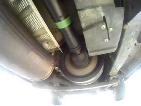 Front Of Rear Drive Shaft View Land Rover Discovery Gopro