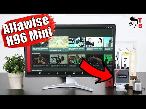 Alfawise H96 Mini Preview: Android TV Box with HDMI Input/Output - 동영상