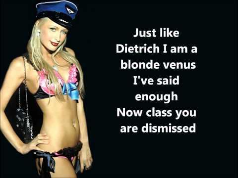 Paris Hilton - Platinum Blonde (Full HQ Official Song) Lyrics On Screen
