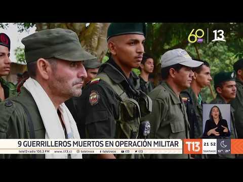 FARC: Fuerzas Militares matan a 9 guerrilleros disidentes