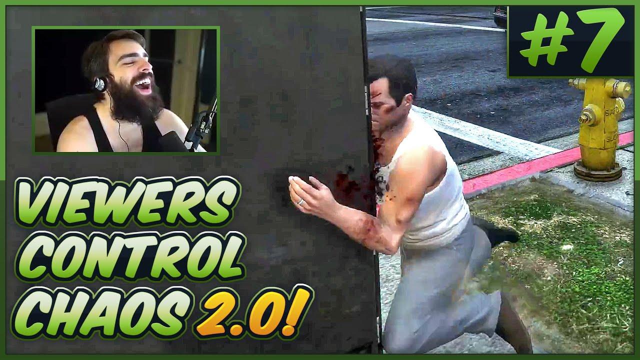 Download Viewers Control GTA V Chaos 2.0! #7 - S03E07
