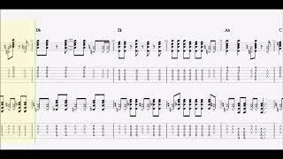 【嶋大輔】男の勲章(復活編)guitar tab