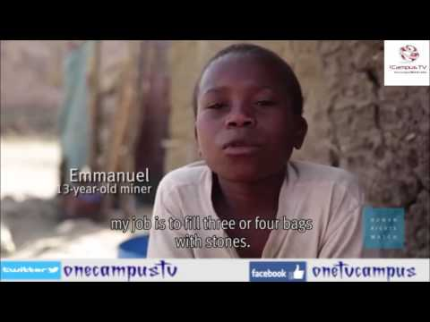 (Children's Lives at Risk in Tanzania's Gold Mines)