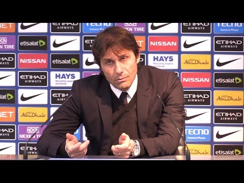 Manchester City 1-0 Chelsea - Antonio Conte Full Post Match Press Conference - Premier League