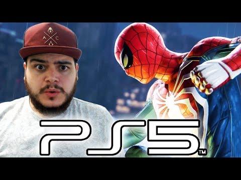 SAIU VÍDEO DO PLAYSTATION 5 RODANDO SPIDER-MAN PS4