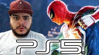 SAIU VÍDEO DO PLAYSTATION 5 RODANDO SPIDER-MAN PS4!