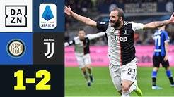 Juve fügt Inter erste Pleite zu und erobert Tabellenspitze: Inter - Juventus 1:2 | Serie A | DAZN
