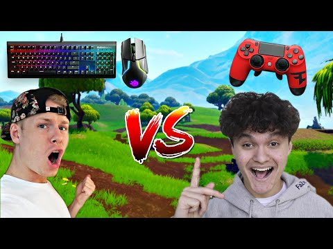 FaZe Teeqo CHALLENGE 16 Year Old FaZe Jarvis! Controller VS Mouse & Keyboard