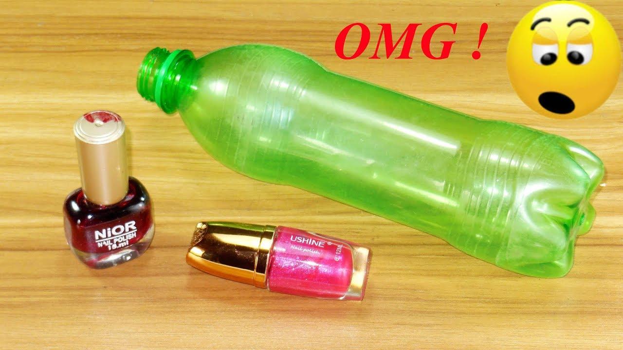Plastic Bottle Craft Idea Best Out Of Waste Plastic Bottle Reuse