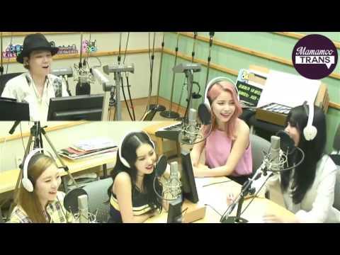 [ENG SUB] 170630 Mamamoo - Lee Hongki's Kiss The Radio