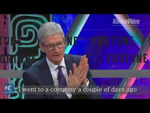 "Apple CEO: China ""incredibly innovative"""