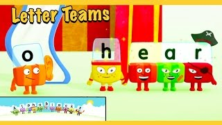 "Alphablocks - Word Magic ""EAR"" & ""H-EAR (Yellow Level Step 11)"
