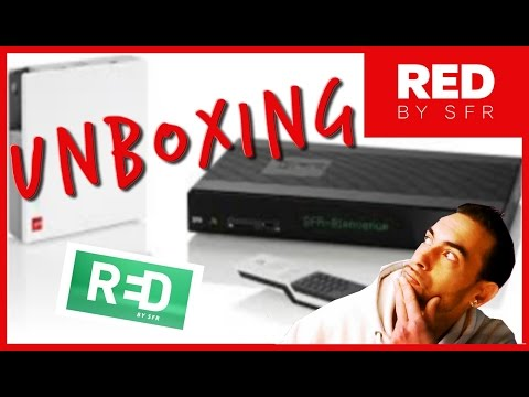 UNBOXING RED BY SFR BOX