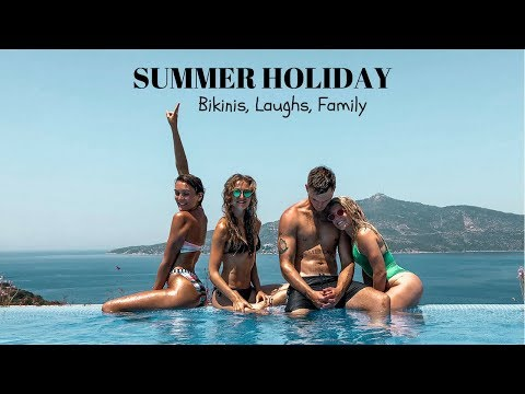 FAMILY HOLIDAY! OUTFITS, BIKINIS, LAUGHS IN KALKAN TURKEY   Blaise Dyer