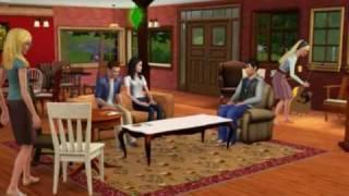 Sims tv - the FRIENDS / Сериал Друзья (the Sims 3)