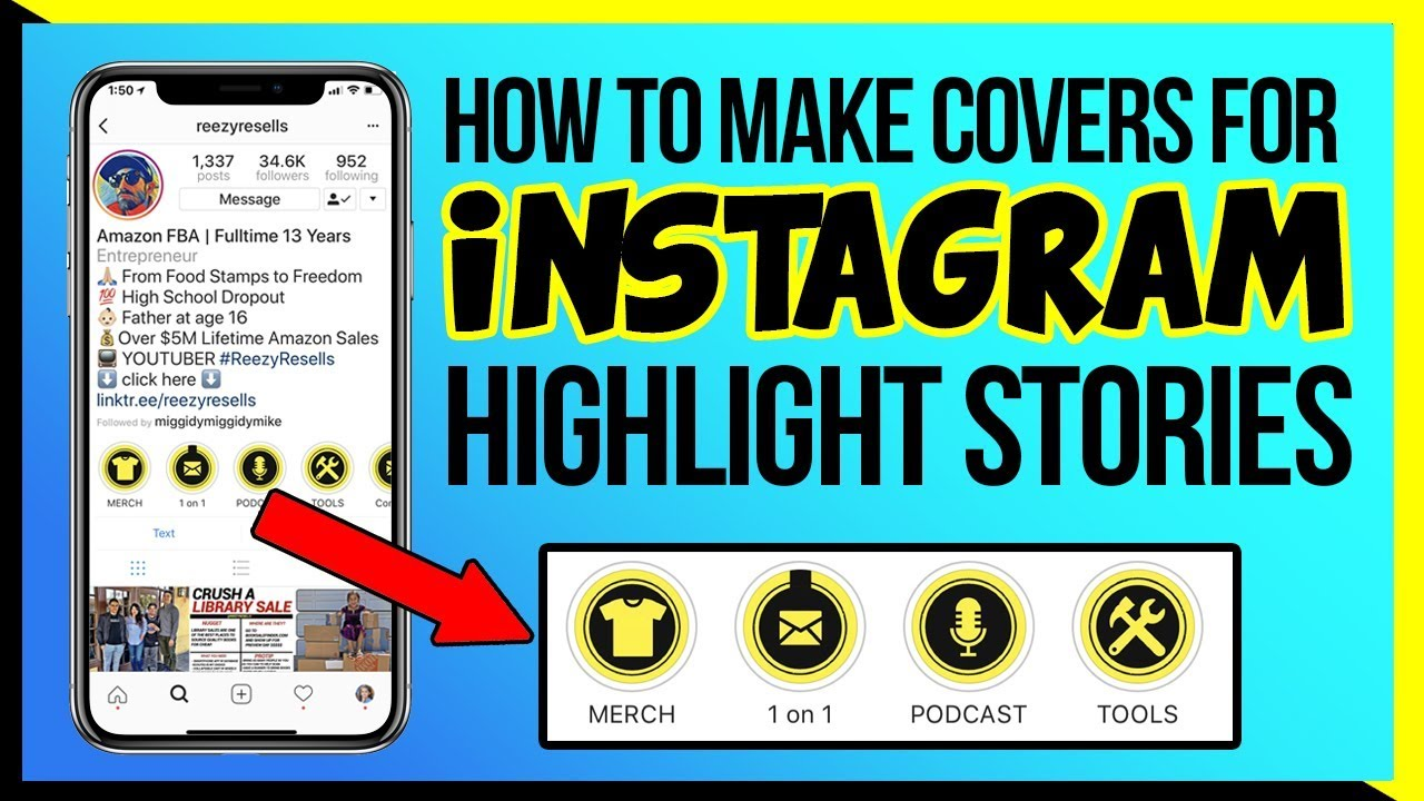 how to create cover for screen recording insta stories photoshop