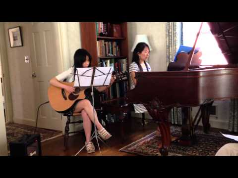 Falling Slowly piano and guitar duet