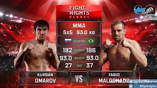 Бойцы ММА Шамиль Амиров и Ахмед Алиев стали победителями турнира Fight Nights Global 73