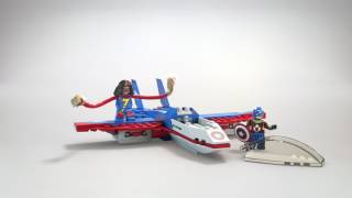 Captain America Jet Pursuit - LEGO Marvel Super Heroes - 76076 - Product Animation