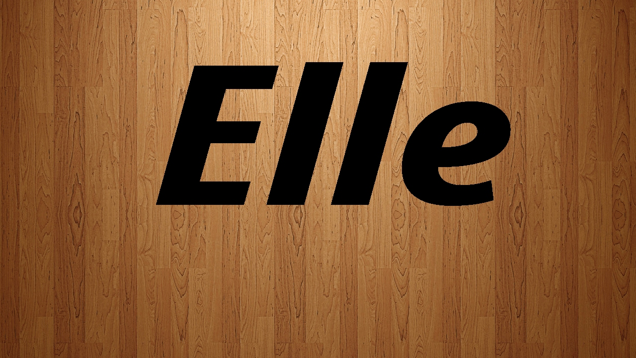 how to pronounce elle in french elle french