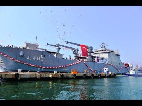 AMPHIBIOUS LANDING BATTLEBOATS TURKISH ARMY NAVAL TCG L402 L403