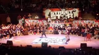 Dancehall final at Streetstar 2015