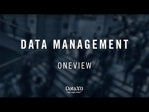 OneView | Identity & data management software for marketing professionals | dataxu