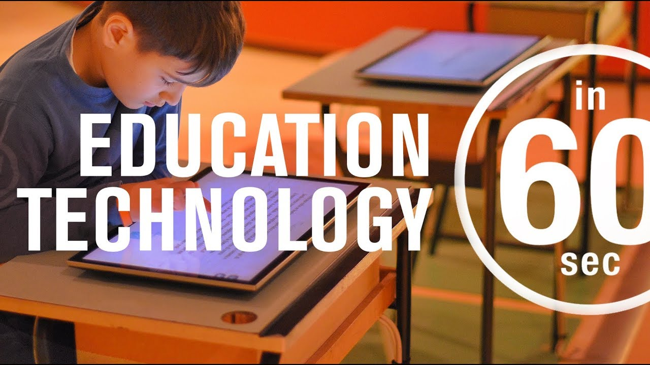 Education technology: Is it on the rise? | IN 60 SECONDS