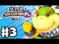 Super Smash Bros. Wii U - Gameplay Walkthrough Part 3 - Bowser Jr.! (Nintendo Wii U Gameplay)