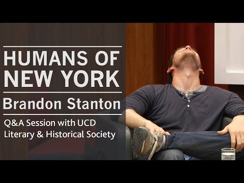 On maintaining a positive online community | Humans of New York creator Brandon Stanton