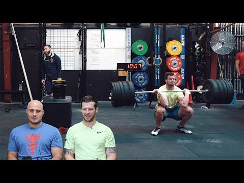 18.2 Travis Mayer Full CrossFit Open Workout w/ Commentary   The Session   Ep.6