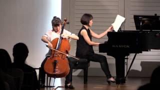 150807 07 박예은 D. Popper - Polonaise de Concert, for cello and piano, Op.14