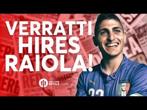 Verratti Hires Raiola! Barkley Rumours! Tomorrow's Manchester United Transfer News Today! #37